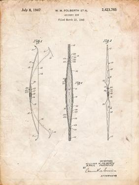 Bill Folberth Archery Bow Patent by Cole Borders