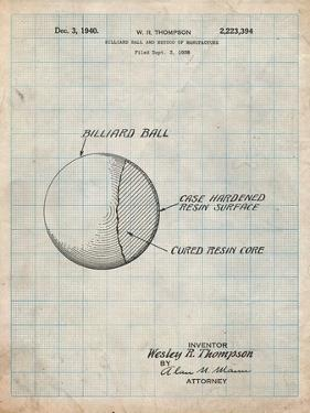 Billiard Ball Patent by Cole Borders