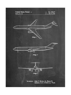Boeing Concept 777 Aircraft Patent by Cole Borders