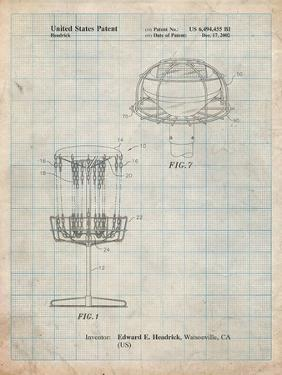 Disc Golf Basket Patent by Cole Borders
