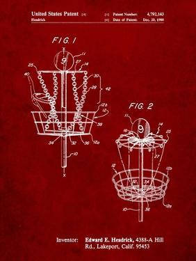 Disk Golf Basket 1988 Patent by Cole Borders