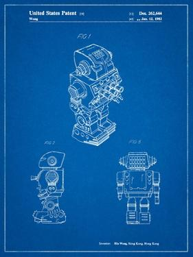 Dynamic Fighter Toy Robot 1982 Patent by Cole Borders