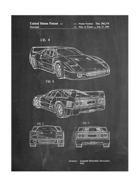 Ferrari 1990 F40 Patent by Cole Borders
