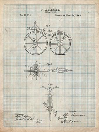 First Bicycle Patent by Cole Borders