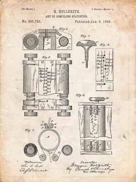 First Computer Patent 1889 by Cole Borders
