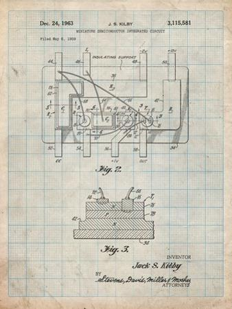 First Integrated Circuit Patent by Cole Borders