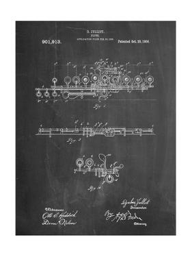 Flute 1908 Patent by Cole Borders