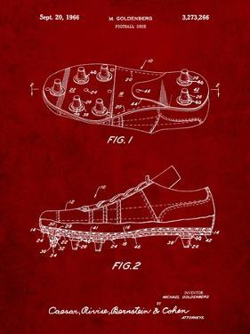 Football Cleat Patent Print by Cole Borders