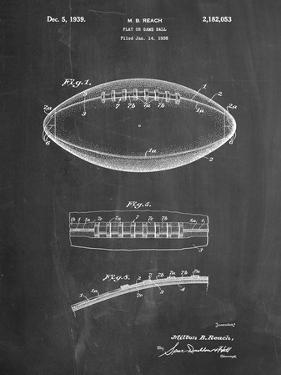 Football Game Ball Patent by Cole Borders