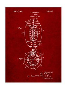 Football Patent 1923 by Cole Borders