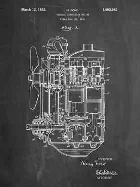 Blueprints posters for sale at allposters ford internal combustion engine patent by cole borders malvernweather Gallery