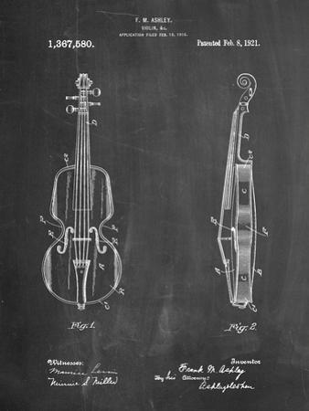 Frank M. Ashley Violin Patent by Cole Borders