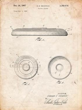 Frisbee Patent by Cole Borders