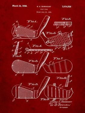 Golf Club, Club Head Patent by Cole Borders