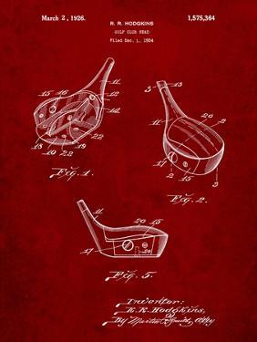 Golf Fairway Club Head Patent by Cole Borders