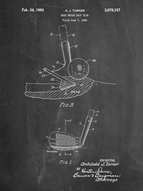 Golf Sand Wedge Patent by Cole Borders