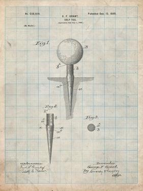 Golf Tee Patent by Cole Borders