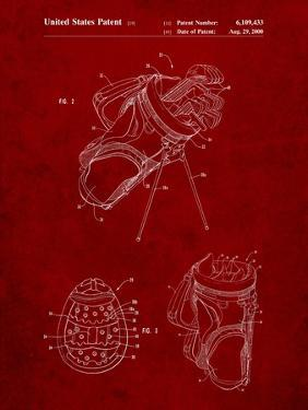 Golf Walking Bag Patent by Cole Borders
