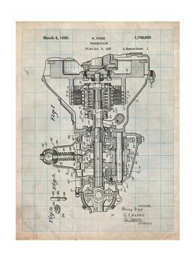 Henry Ford Transmission Patent by Cole Borders