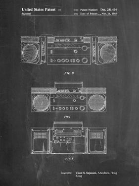Hitachi Boom Box Patent by Cole Borders