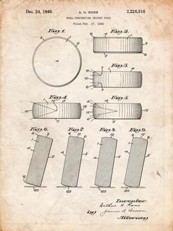 Hockey Puck Patent by Cole Borders