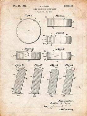 Blueprints framed art for sale at allposters hockey puck patent malvernweather Images