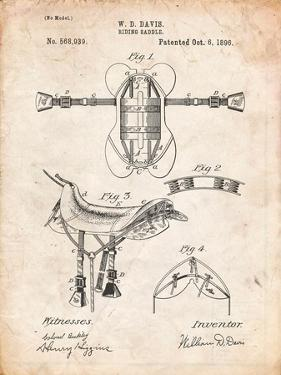 Horse Riding Saddle Patent by Cole Borders