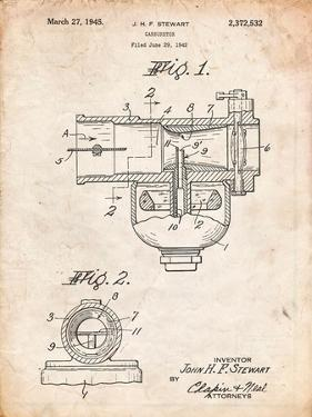 Indian Motorcycle Carburetor Patent by Cole Borders