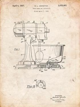 Kitchenaid Kitchen Mixer Patent by Cole Borders