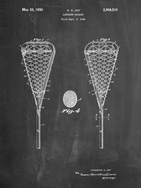 Lacrosse Stick 1948 Patent by Cole Borders