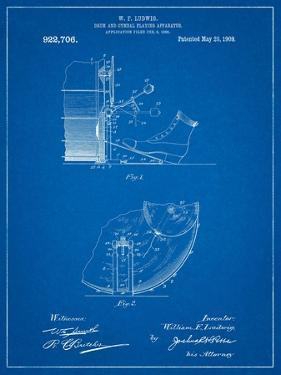 Blueprints posters for sale at allposters ludwig kickdrum and cymbal by cole borders malvernweather Gallery