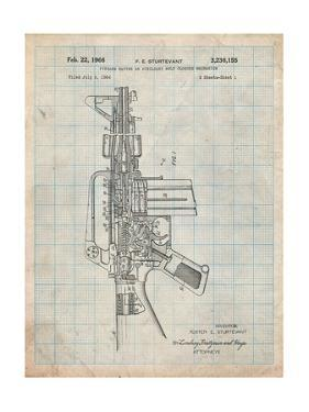 M-16 Rifle Patent by Cole Borders