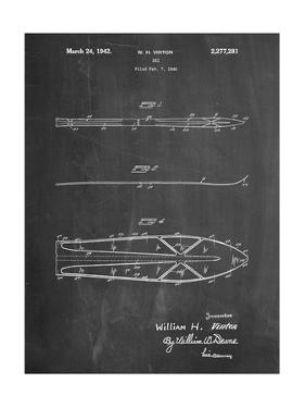 Metal Skis 1940 Patent by Cole Borders