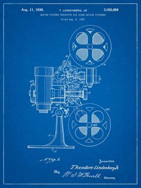 Movie Projector 1933 Patent by Cole Borders