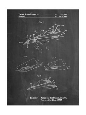 Paper Airplane Patent by Cole Borders