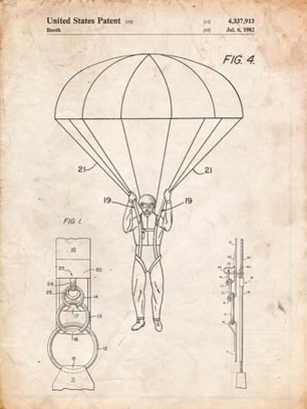 Parachute 1982 Patent by Cole Borders