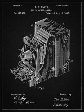 PP301-Vintage Black Lucidograph Camera Patent Poster by Cole Borders