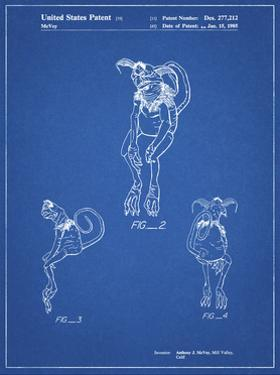 PP694-Blueprint Star Wars Salacious Crumb Patent Poster by Cole Borders
