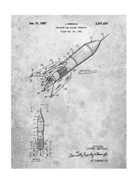 Rocket Ship Concept 1963 Patent by Cole Borders