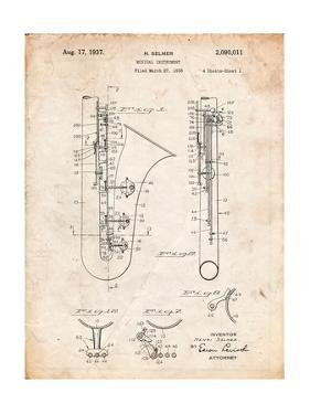 Saxophone Patent by Cole Borders