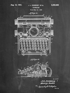 School Typewriter Patent by Cole Borders