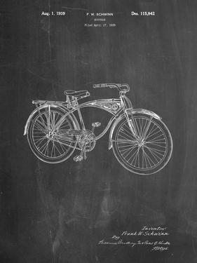 Schwinn 1939 BC117 Bicycle Patent by Cole Borders