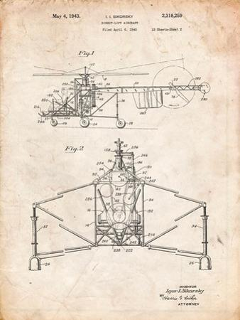 Sikorsky Helicopter Patent by Cole Borders