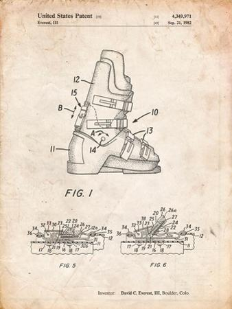 Ski Boots Patent by Cole Borders