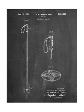 Ski Pole Patent by Cole Borders