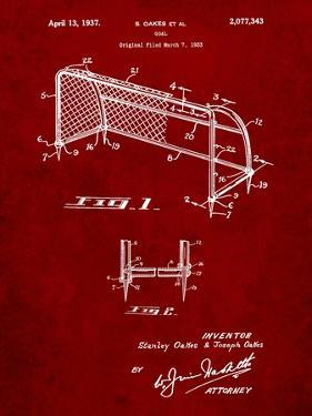 Soccer Goal Patent Art by Cole Borders