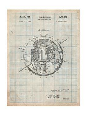 Space Station Satellite Patent by Cole Borders