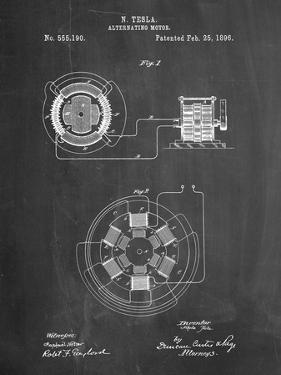 Tesla Alternating Motor Patent by Cole Borders