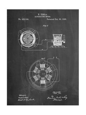 Tesla Alternating Motor Patent by Cole Borders
