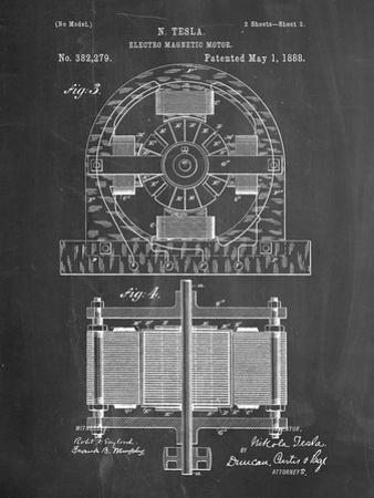 Tesla Electro Motor Patent by Cole Borders